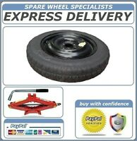 "SPACE SAVER SPARE WHEEL 15"" FITS HONDA JAZZ 2009-2016 +LIFTING JACK BRACE REF001"
