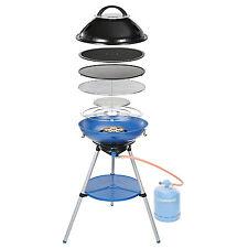 Campingaz Party Grill 600 Gasgrill und Kocher mit Wendeplatte und Deckel