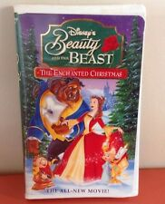 Beauty and the Beast: An Enchanted Christmas (VHS, 1997) Video Tape Disney Movie