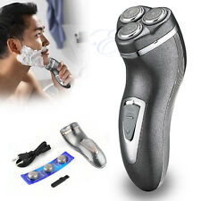 3D Power Men's Rechargeable Washable Cordless Rotary Electric Shaver Hair Razor