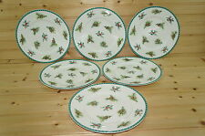 Mikasa Christmas Wish HK 713 Set of (6) Salad Plates, 8 1/2""