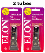2-pack Elon Lanolin Rich Nails 10 g Conditioner for Healthy Cuticles and Nails