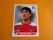 510 KWANG-CHON COREE NORD DPR PANINI FOOTBALL FIFA WORLD CUP 2010 COUPE MONDE