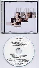 BLAKE So Happy 2013 UK 1-trk promo test CD Ash Howes radio mix