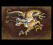 Asian Dragon Painting On Canvas Framed Wall Art Paintings Chinese Dragon Art