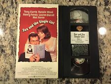 SEX AND THE SINGLE GIRL OOP LIKE NEW VHS 1964 NATALIE WOOD, TONY CURTIS TRUE BIO