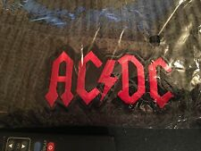 AC/DC WINTER BEANIE HAT. ONE SIZE GREY OR BLACK