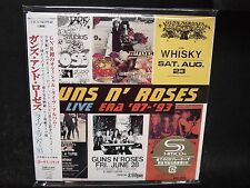 GUNS N' ROSES Live Era '87-'93 JAPAN SHM MINI LP (Papersleeve) 2CD LA Guns