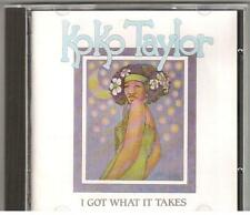 CD KOKO TAYLOR I GOT WHAT IT TAKES Made in France 21 Tracks
