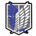 Attack on Titan-The Survey Corps Badge Wings of Freedom 3D PVC Velcro Patch