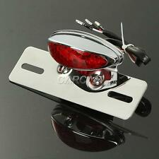 LED License Plate Tail Light For Honda Rebel Fury Scrambler Custom Hawk