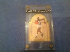 SHAQUILLE O'NEAL 1993-94 UPPER DECK SE ALL-STAR DIE CUT #E13 ORLANDO MAGIC SHAQ