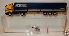 WIKING HO 1/87 CAMION MERCEDES SEMI REMORQUE CENTRAL TRAILER RENTCO TIPHOOK PLC