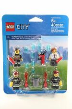 LEGO CITY Fire Rescue Minifigure SET 850618 man woman girl boy accesories