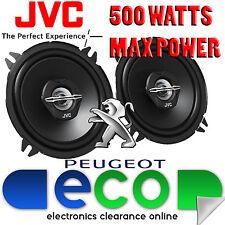 Peugeot 307 2001-2008 Jvc 13cm 5.25 Pulgadas 500 Watts 2 Vías De Puerta Trasera altavoces del coche