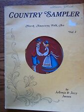 Country Sampler Vol. 3 by Jo Sonja Jansen Tole Painting - Autographed by Jansen