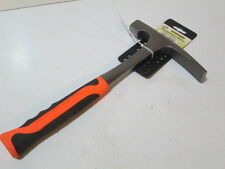 Bricklayers hammer high quality steel shafted with rubber grip