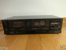Technics RS-T11 Stereo Dual Cassette Deck Recorder 1989 Japan TESTED 100% Works