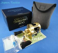 NEW SHIMANO CALCUTTA CONQUEST 300 (RH) REEL **1~3 DAYS DELIVERY** JAPAN MADE