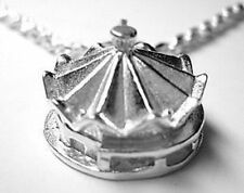 COOL Circus tent charm pendant jewelry Sterling silver 925