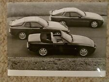"""1990 Porsche 944 S2 & 944 Turbo B&W Press """"Werkfoto"""" Photo Factory Issued RARE!!"""
