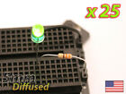 [25x] Green 5mm LED Diffused Lens - Mod your Car, or PC - FAST Shipping from USA