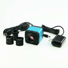 Microscope 14MP HDMI Industry Camera TF Video Recoder Digital Eyepiece C Adapter