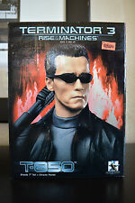 "Terminator 3 Rise of the Machines T-850 Bust 7"" by Gentle Giant"