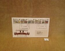 GB COVER LIVERPOOL MANCHESTER RAILWAY 1830 DUKE WELLINGTONS CARRIAGE 1980 QUESTA
