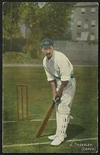 Cricket. England & Lancashire. J.Tyldesley # 773 in National Series.