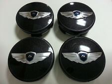 Wing Logo Emblem Badge Center Wheel Cap For 2011~2016+ Hyundai Veloster 1Set-4ea