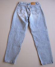 """Vintage Levi's High Waist Mom Jeans Loose Fit Blue 12 Denim 31"""""""