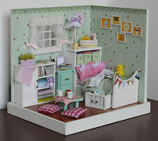 Dollhouse Miniature DIY Kit House Room Handicraft Birthday Gift The Wizard of Oz