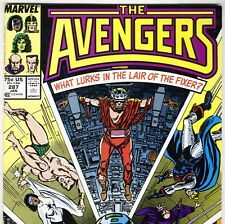 The AVENGERS #287  with Sub-Mariner & She-Hulk from Jan 1988 in VF/NM con. NS