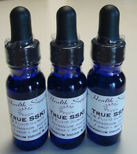 1/2 fl oz True SSKI-TRULY SATURATED Solution Potassium Iodide in dropper bottle