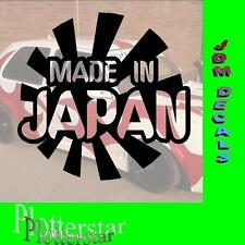 Made in Japan Risingsun JDM Sticker aufkleber oem Power fun like Shocker