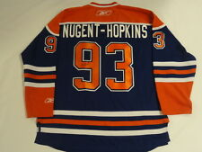 RYAN NUGENT-HOPKINS SIGNED EDMONTON OILERS HOME JERSEY JSA COA FULL AUTOGRAPH