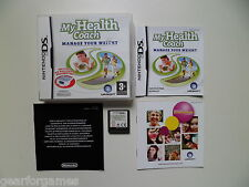 NINTENDO DS GAME PAL MY HEALTH COACH  PLAYED AND TESTED