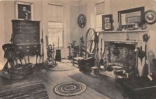 SAG HARBOR LONG ISLAND NY ROOM IN HISTORICAL & WHALING MUSEUM~ALBERTYPE POSTCARD
