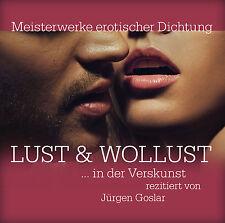Audiolibro CD Deseo y Lust Obras maestras el erótico Sello 2CDs