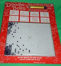 Vintage 1970's Magnetic Doodle Balls Complete #189 Smethport HOURS of Fun