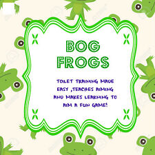 100 X TOILET TRAINING TARGETS FOR BOYS  JUST DROP IN AND AIM LEARNING MADE FUN!