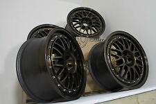 "Custom Painted Rota MC3 18"" alloys VW Audi Seat Skoda Subaru Toyota 5x100"