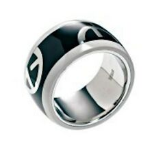 Emporio Armani Steel Ring BNWT 100% Authentic Size 6 $95 Comes with EA Pouch!