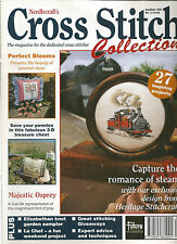 CROSS STITCH COLLECTION MAGAZINE # 12 - STEAM TRAINS - MAJESTIC OSPREY - PENNIES