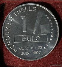 CROUY EN THELLE  EURO  TEMPORAIRE  VILLES JETON MÉDAILLE MUNZE COIN 1082A310