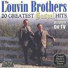 20 Greatest Gospel Hits by The Louvin Brothers (CD, Aug-2002, Teevee Records)