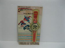 MARX 1978 SUPERHEROES DC Superman&Batman&Marvel Spiderman Watch -New In Package