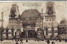 #GENOVA: ESPOSIZIONE 1914- ENTRATA PRINCIPALE E D'ONORE