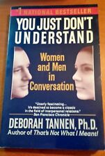 """2001 """"You Just Don't Understand: Women and Men in Conversation""""Tannen(Paperback)"""